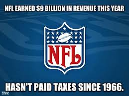 nfl tax exempt