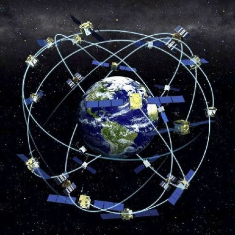 satellite, bonds, links, earth
