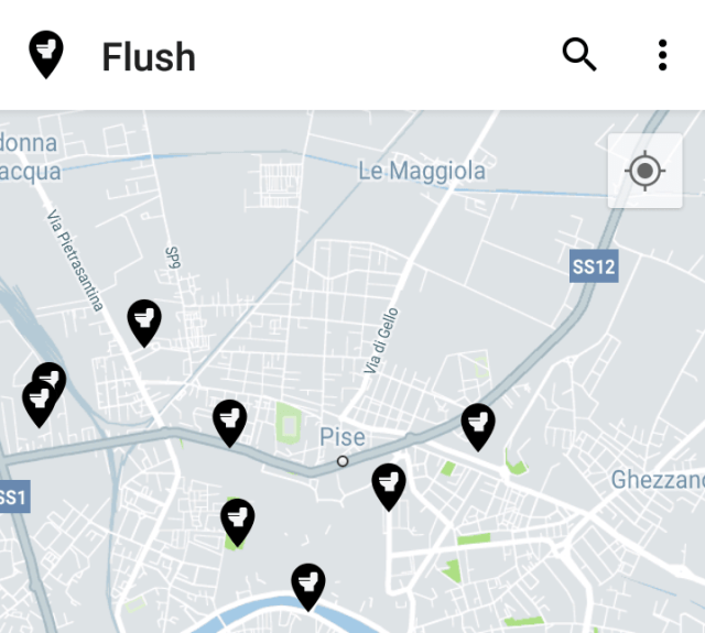 Mes applications voyage : Flush