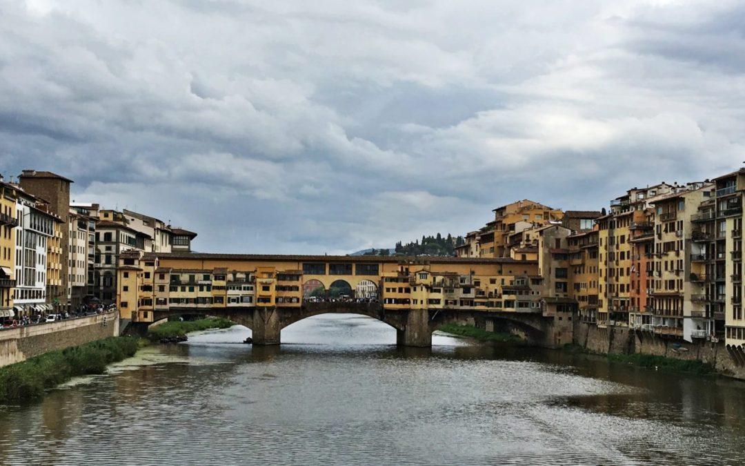 Promenade à Florence en Italie