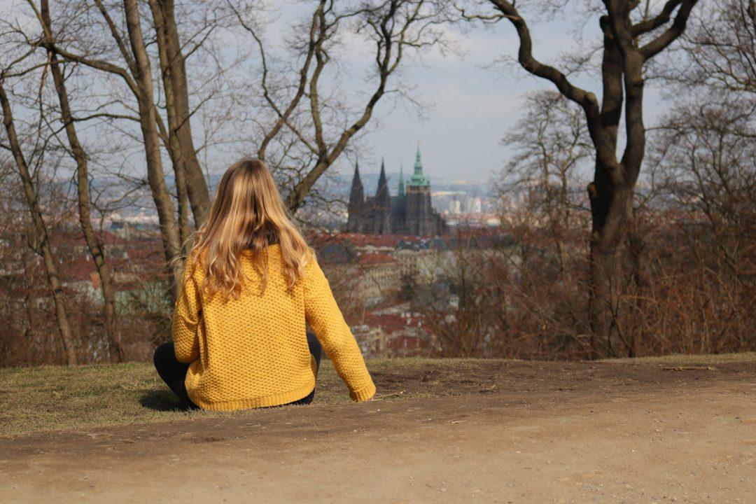 Colline de petrin à Prague