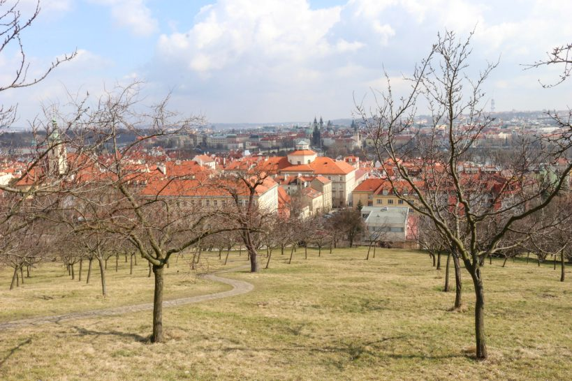 Colline de prétrin à prague