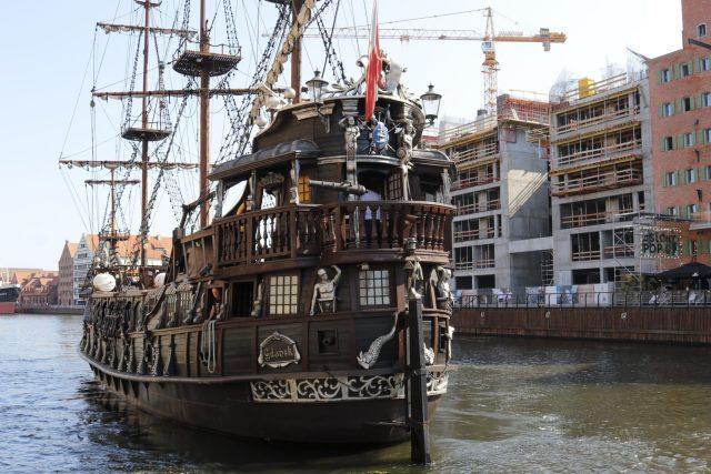 Bateau Pirate Gdansk