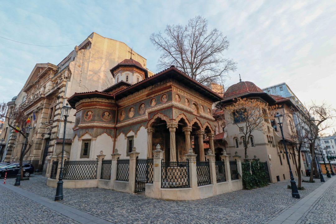 Cloitre-de-l-église-Stavropoleos-