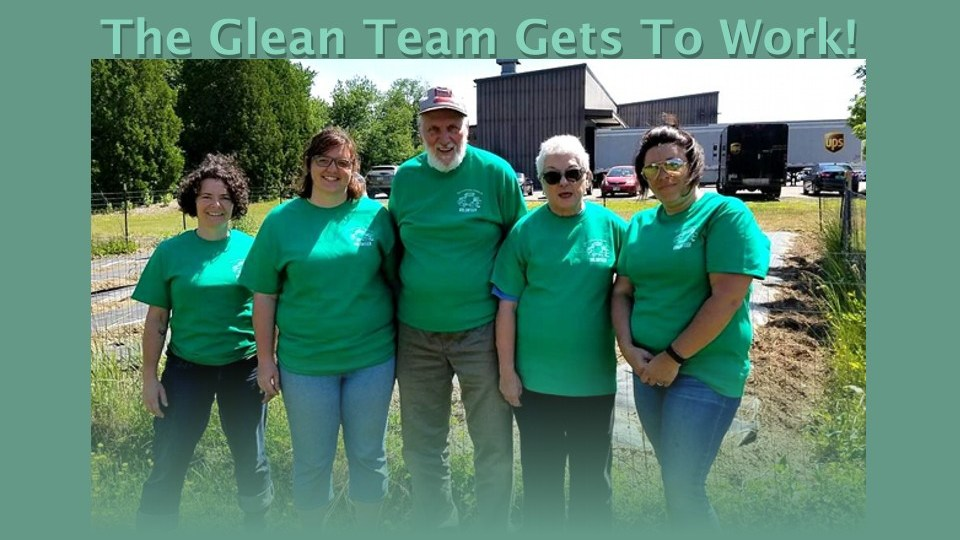 TCK Glean Team ready for work