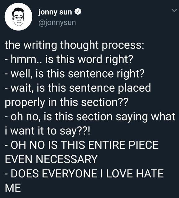 Editor'sLament