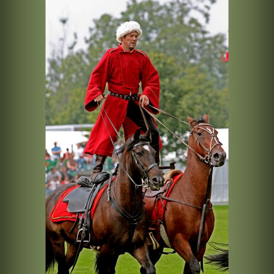 cossack roman horse riding lessons