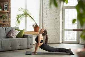 yoga poses for office workers.