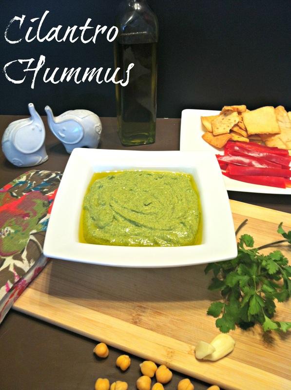 Cilantro Hummus ~ The Complete Savorist