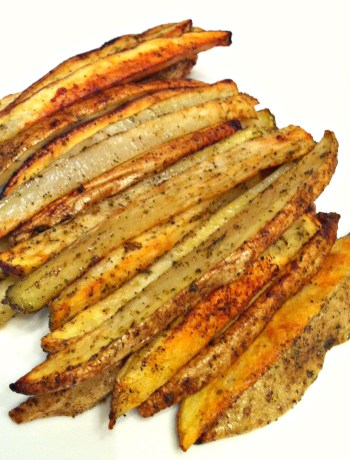 Home Fries ~ Restaurant style thick-cut potatoes, seasoned and baked crispy ~ The Complete Savorist