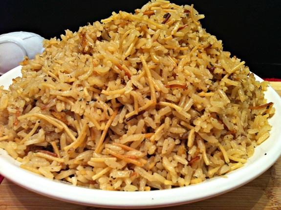 Simple Rice Pilaf ~ The Complete Savorist