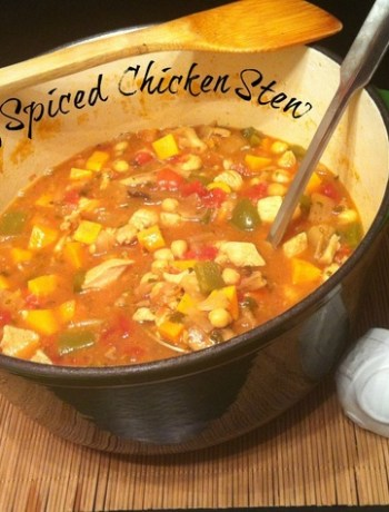 Indian Spiced Chicken Stew ~ The Complete Savorist