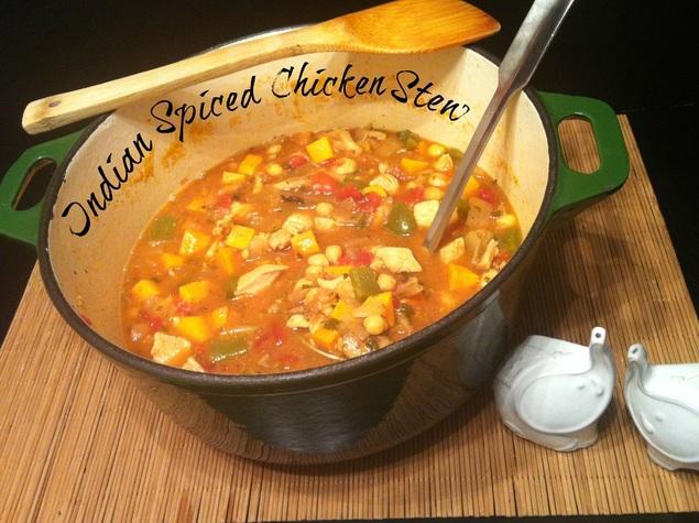 Indian Spiced Chicken Stew ~ The Complete Savorist