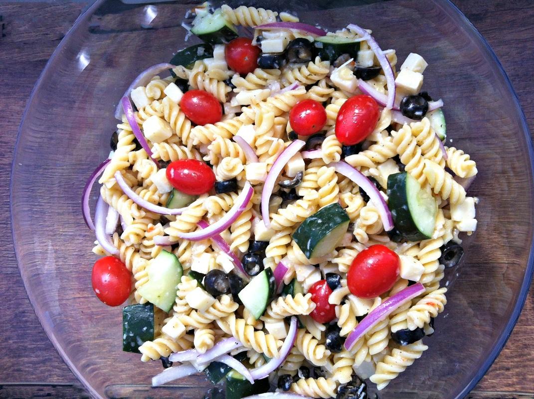 Pasta Salad ~ The Complete Savorist