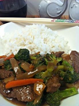 Served Broccoli Beef ~ The Complete Savorist