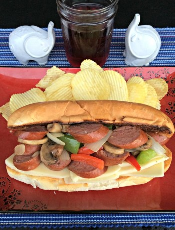 Sausage and Pepper Sandwich ~ The Complete Savorist