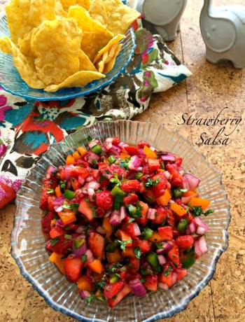 Strawberry Salsa ~ The Complete Savorist