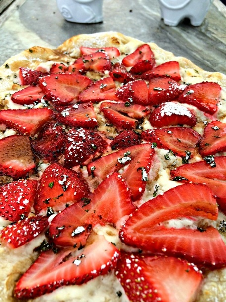 Strawberry Balsamic Pizza ~ The Complete Savorist