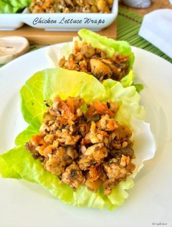 Chicken Lettuce Wraps ~ The Complete Savorist