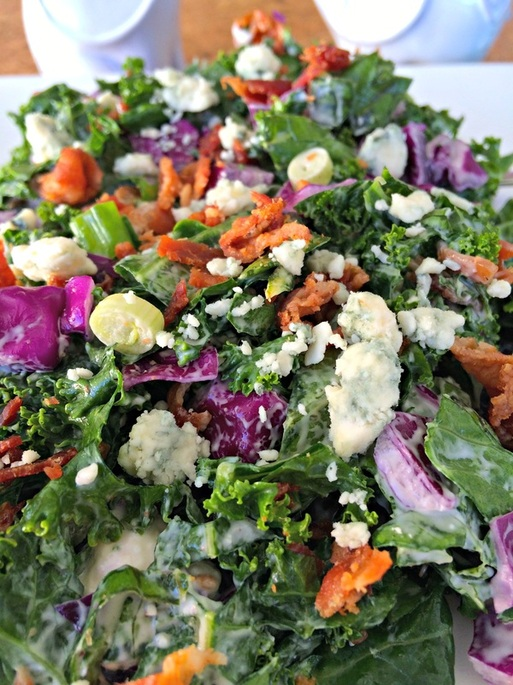 PictureChopped Kale Salad ~ The Complete Savorist