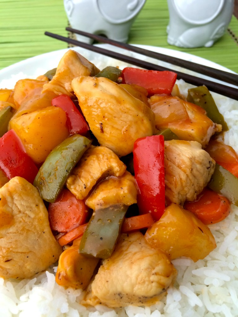 Sweet and Sour Chicken ~ The Complete Savorist