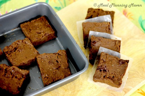 Cocoa Sweetie Pie Squares by Meal Planning Maven