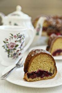 Cranberry Sauce Bundt Cake