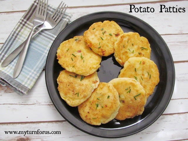Potato Patties By My Turn For Us