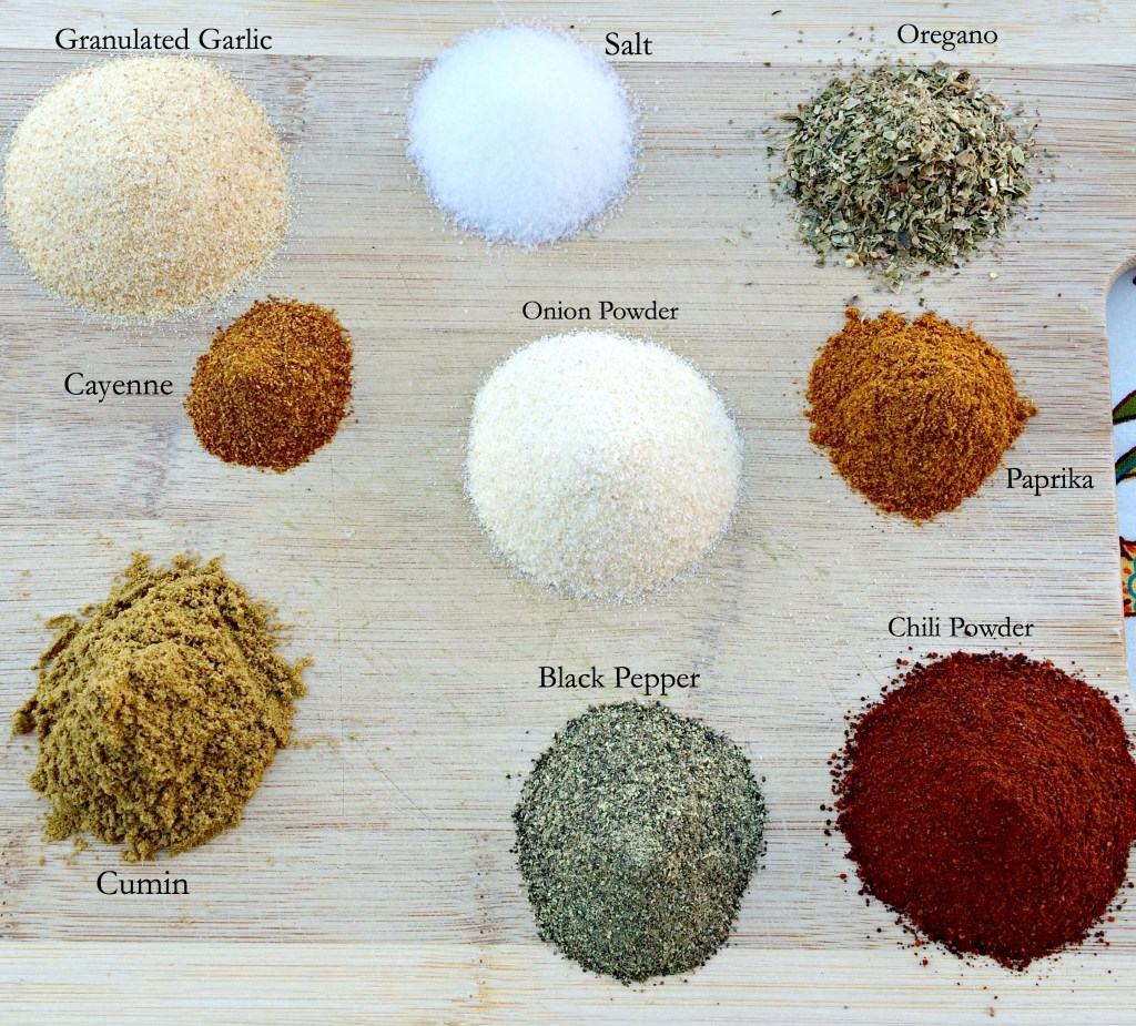 Homemade Taco Seasoning ~ Why buy a pre-made package blend with unknown ingredients when you can make your own tailored blend using all the spices you currently have in your spice cabinet ~ The Complete Savorist