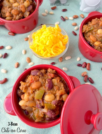 3-Bean Chili con Carne ~ The Complete Savorist