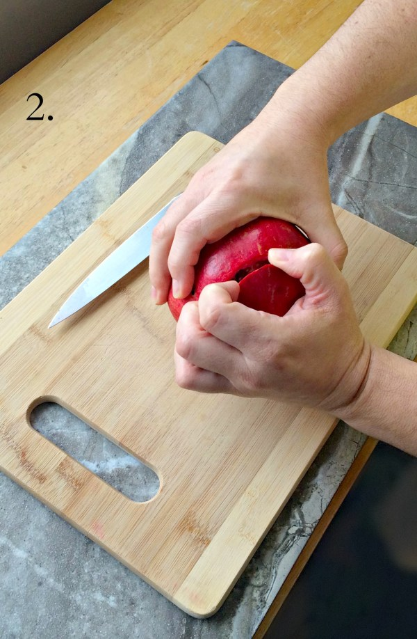 How to Open a Pomegranate ~ The Complete Savorist