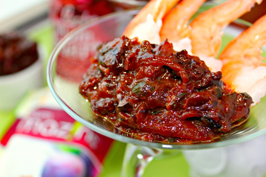 Dried Plum Chutney ~ A sauce or relish combining dried plums with sour, sweet, and a bit of heat for a delicious addition to your cheese and crackers or an elevated shrimp cocktail ~ The Complete Savorist