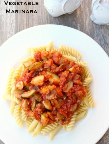 Vegetable Marinara ~ The Complete Savorist