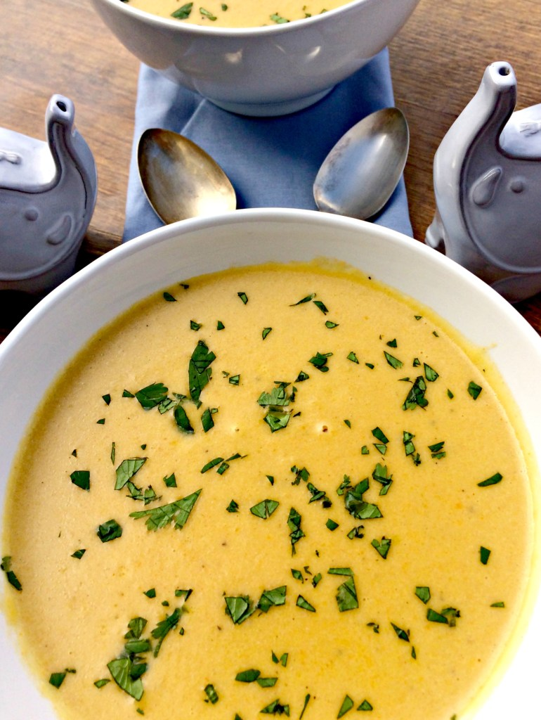 Cauliflower Cheese Beer Soup ~ The Complete Savorist