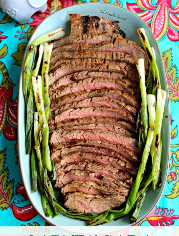 Carne Asada ~ The quintessential Mexican beef dish that is marinated and seasoned then grilled to perfection ~ The Complete Savorist