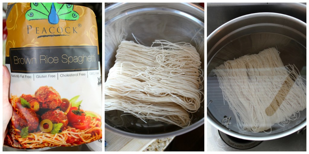 Rice Noodles for Hoisin Pork Noodle Bowl ~ The Complete Savorist