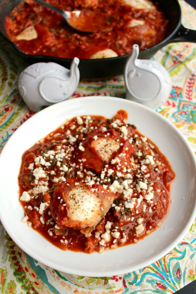 Shakshouka - Eggs in a Spiced Tomato Sauce ~ The Complete Savorist