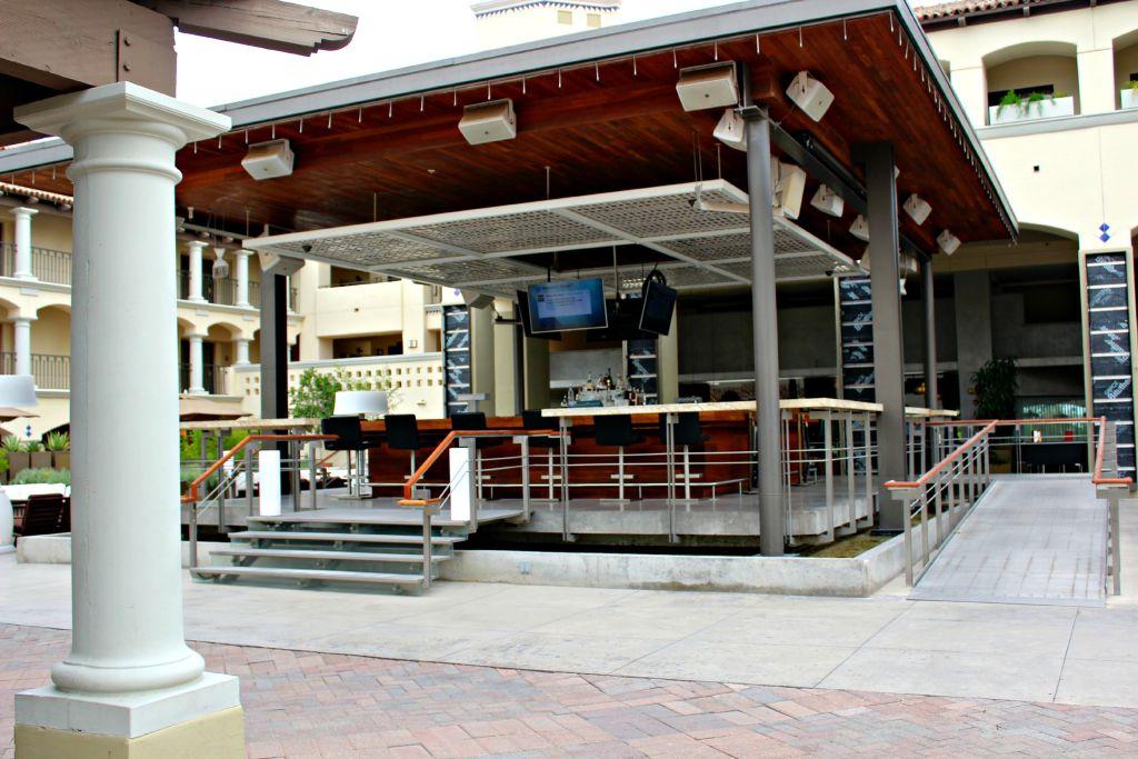 Courtyard Bar at Fairmont Scottsdale Princess ~ The Complete Savorist