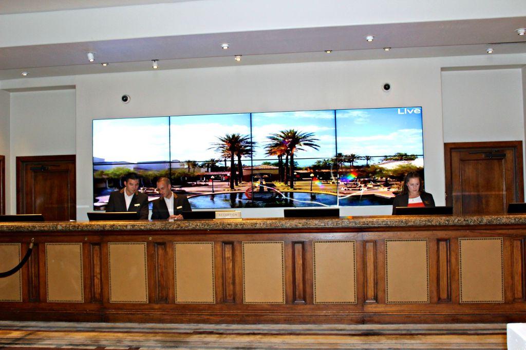 FrontFront Desk at the Fairmont Scottsdale Princess ~ The Complete Savorist