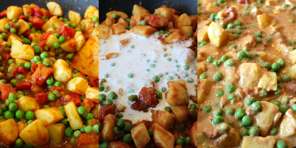 Potato and Pea Curry ~ The Complete Savorist