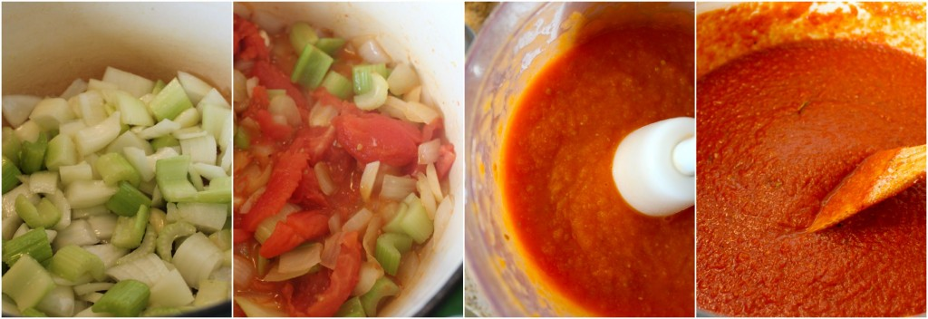 Garden Tomato Sauce - Fresh from the garden tomatoes turned into to delicious sauce for your favorite pasta. Perfect for your summer bounty ~ The Complete Savorist