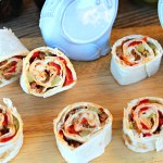 Classic appetizer with a Spanish flare that unites the flavors of red peppers, chorizo, and green olives. ~ The Complete Savorist by Michelle De La Cerda
