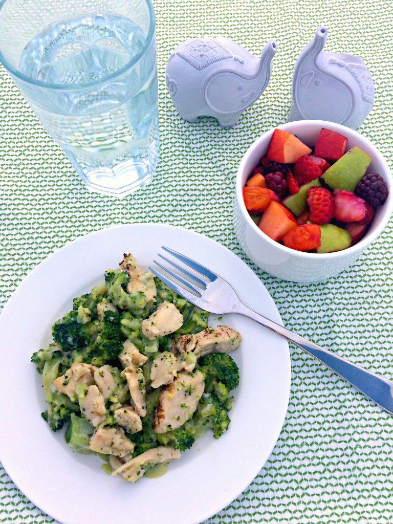 Fresh Fruit Salad ~ Blackberries, strawberries, apple, nectarine, mandarin oranges in a honey, lemon, and pineapple juice dressing ~ The Complete Savorist #LiveHealthyChoice #ad
