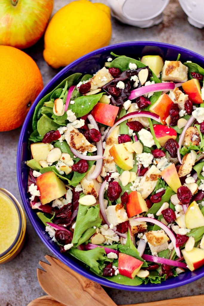 Chicken Salad With Apple And Cranberries