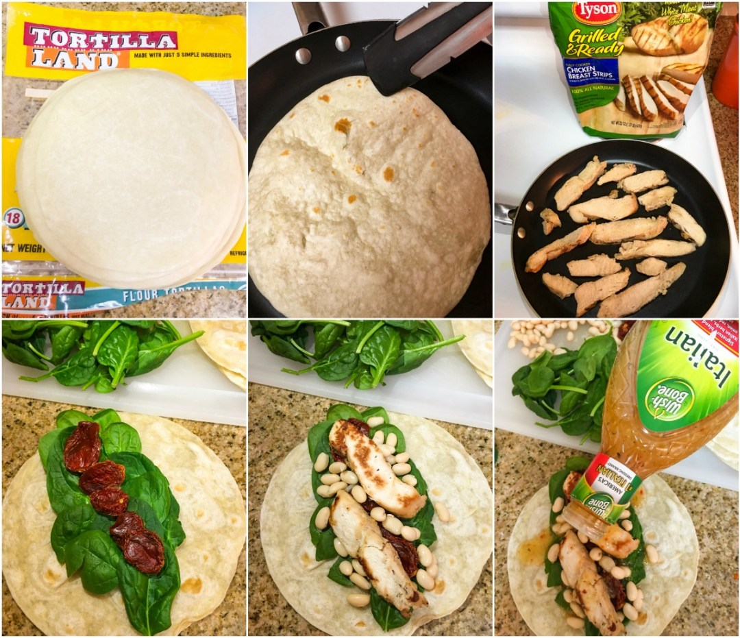 Tuscan Grilled Chicken Wraps The Complete Savorist
