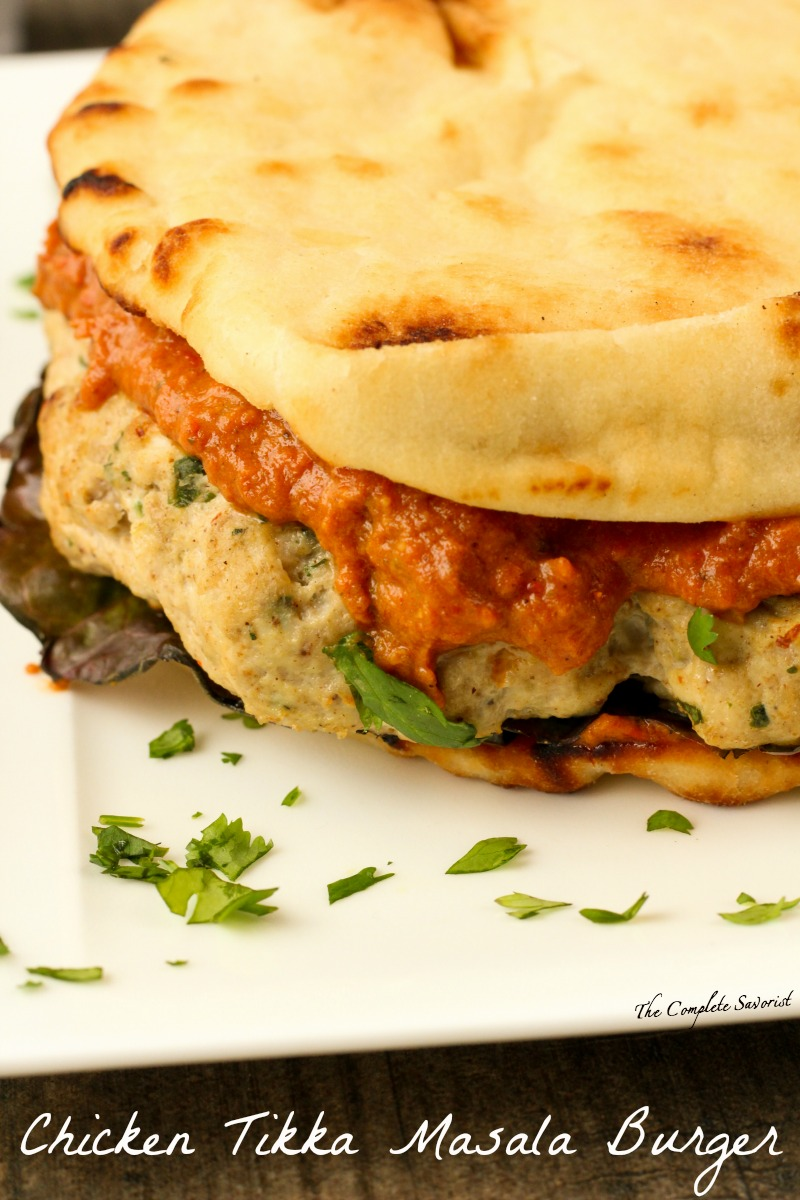 Chicken Tikka Masala Burger The Complete Savorist