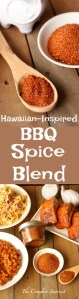 Hawaiian-Inspired BBQ Spice Blend ~ Delicious spice blend that can be used as a dry rub for meat and veggies or as mix-in to countless side dishes ~ The Complete Savorist by Michelle De La Cerda