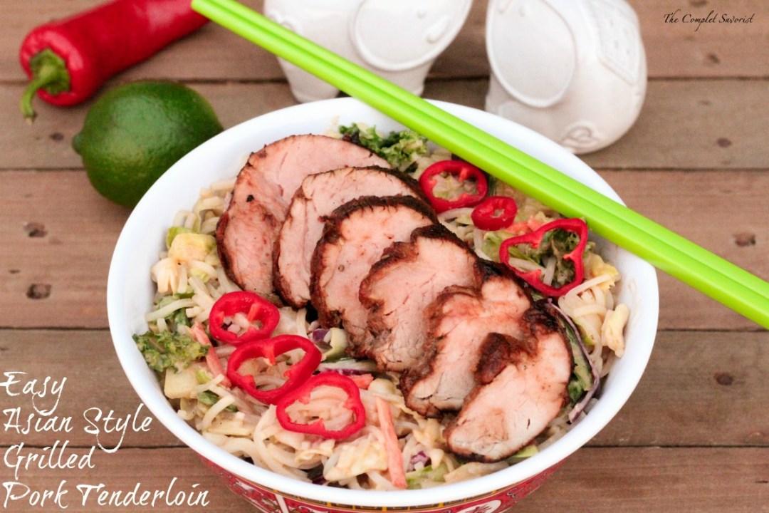 Easy Asian Style Grilled Pork Tenderloin - The Complete Savorist