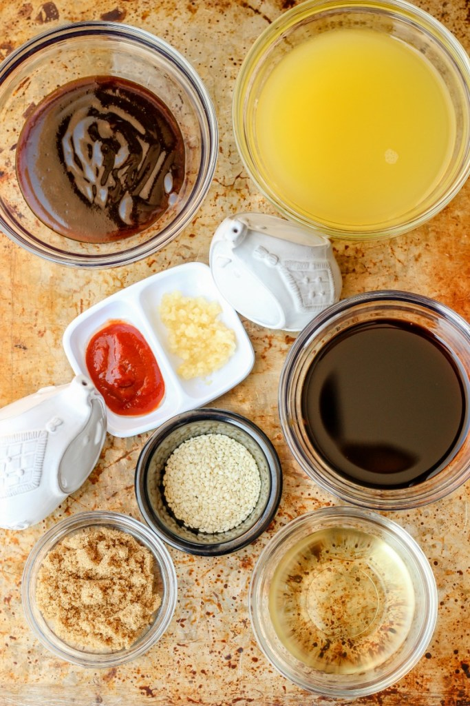 Easy Asian Inspired Everything Sauce ~ Easy homemade Asian Inspired Everything Sauce works as a marinade, stir fry sauce, dipping sauce, and so much more ~ The Complete Savorist by Michelle De La Cerda