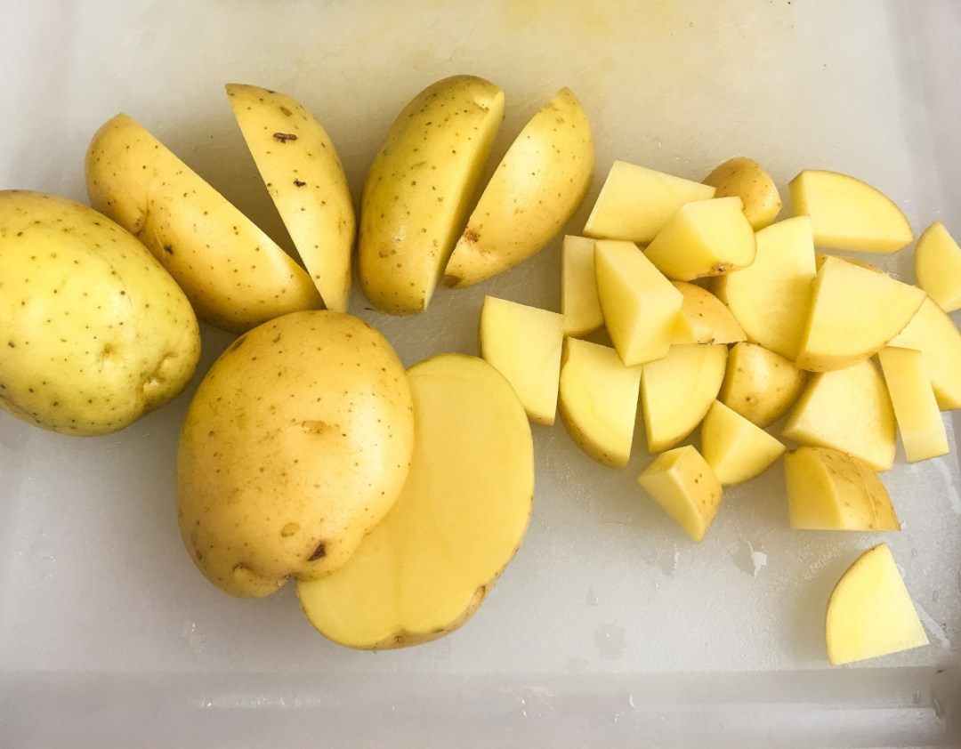 Yukon Gold Potatoes makes a delicious mashed potatoes.